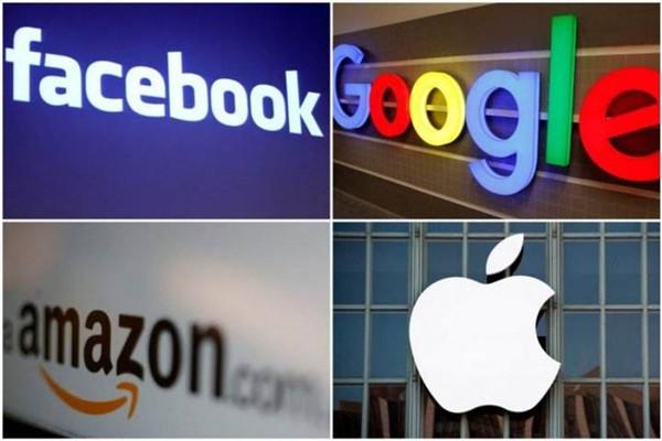 Facebook、亚马逊、谷歌、苹果将参加美国众议院反垄断听证会