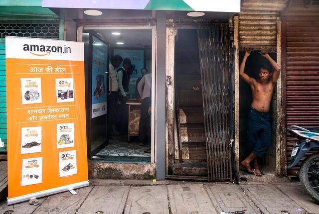 亚马逊 印度电商