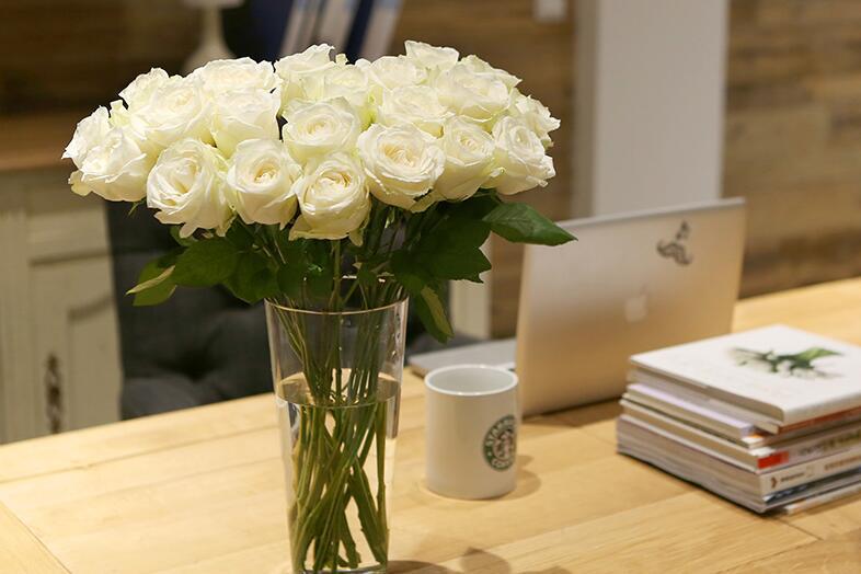 每周一束花只需一杯咖啡钱